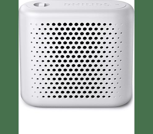 Philips Bluetooth® Безжична портативна тонколона, Акумулаторна батерия, 2 W - бял