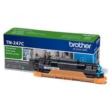 Toner Cartridge Brother TN247C for DCP-L3510CDW, DCP-L3550CDW, HL-L3210CW, HL-L3270CDW, MFC-L3730CDN, MFC-L3770CDW up to 2300 pages, Cyan