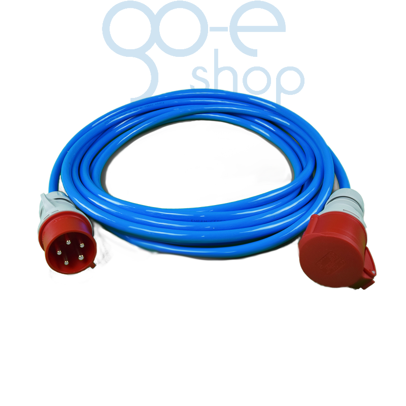 Extension cable CEE red (3-phase)