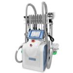 Συσκευή νέας γενιάς για κρυολιπόλυση 360 ° για σώμα και διπλό πηγούνι + σπηλαίωση+ RF + Λιπολέιζερ