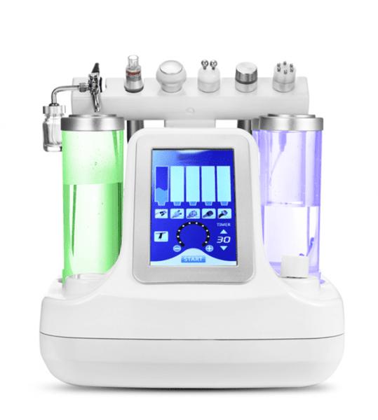 Συσκευή υδροδερμοαπόξεσης, RF, ΒΙΟ-ΛΙΦΤΙΝΓΚ, Οξυγόνο, Υπερηχογράφημα και Κρυοθεραπεία