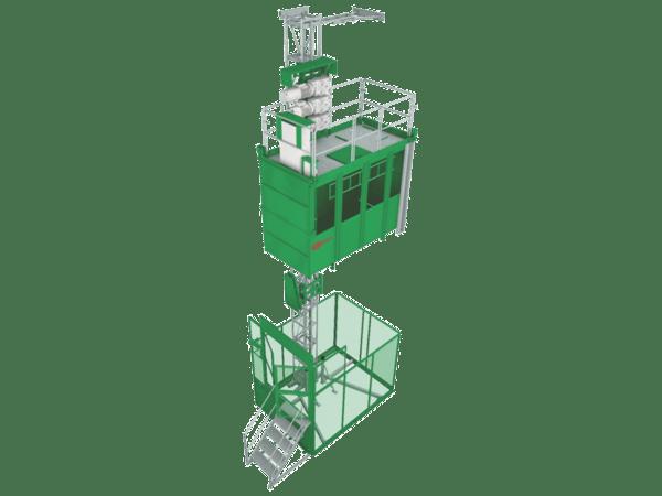 Строителен асансьор Jaso GE1537