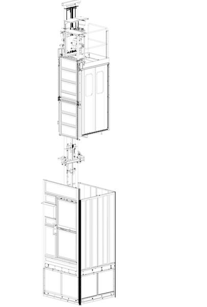 Сервизен асансьор Jaso GE0525