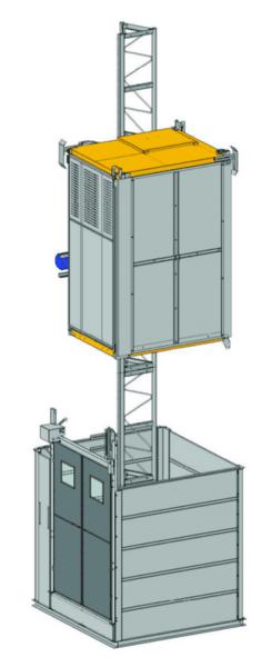Строителен/Индустриален асансьор Electroelsa Elsa H05