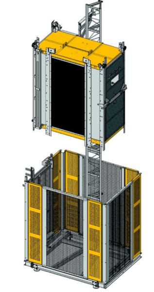 Строителен/Индустриален асансьор Electroelsa Elsa H10(EHP800)
