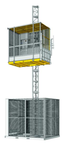 Строителен асансьор Electroelsa Elsa H15(EHP12)