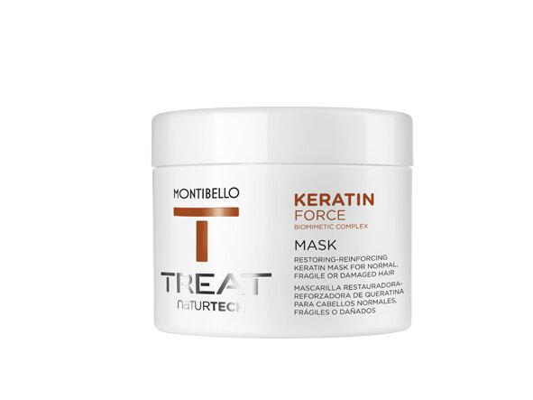 Маска с кератин за възстановяване и подсилване Montibello Treat Keratin Force Mask 200ml