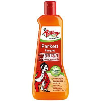 Poliboy препарат за почистване и поддържане на запечатани подове от Паркет и Дъски, концентрат 500 мл