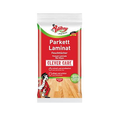 Poliboy влажни кърпи за почистване на Паркет и Ламинат, 15 бр