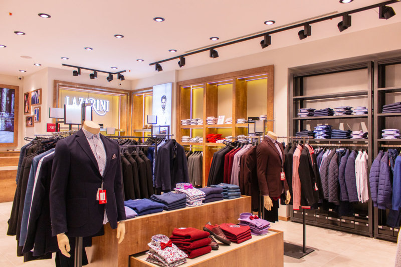 LAZARINI с нов магазин в МОЛ Plovdiv Plaza