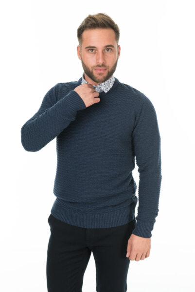 Мъжки плетен пуловер Torino/ color 1