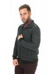 Мъжка плетена жилетка FRM-10069/ color 1