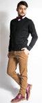 Мъжки плетен пуловер LAZARINI 4/ color 1