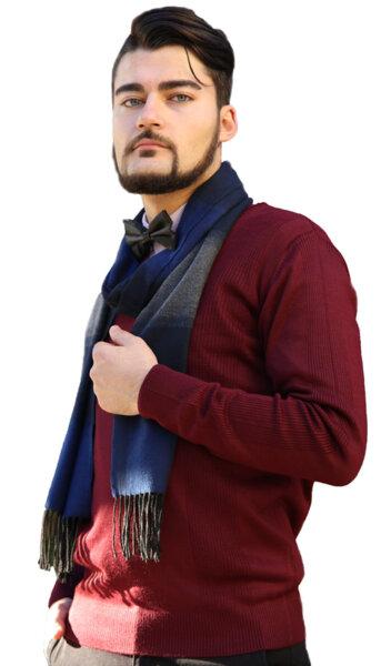 Мъжки плетен пуловер LAZARINI 5/ color 3