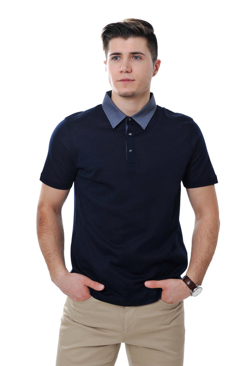 Мъжка блуза с яка Плетка, col 3-Copy