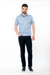 Мъжка блуза с яка L1-10, col 3