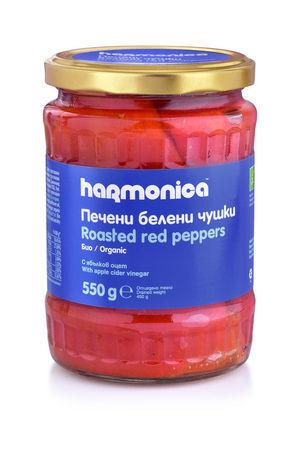 Червени белени чушки harmonica 550 г.