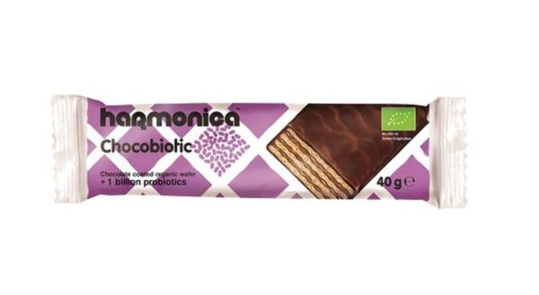 Тунквана вафла Chocobiotic harmonica 40 г.