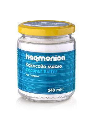 Кокосово масло Harmonica 240 г.
