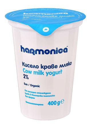 Кисело мляко harmonica 2.0% 400 г.
