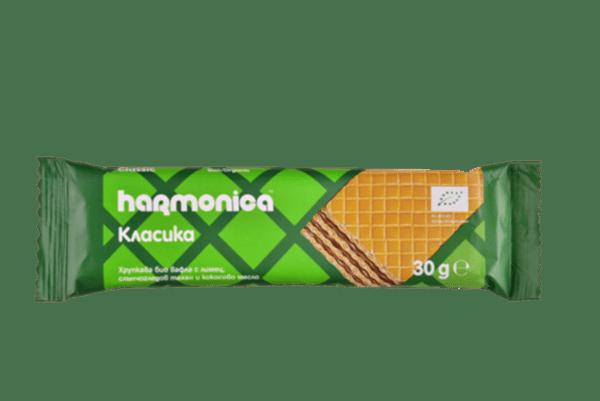 Хрупкава вафла harmonica 30 г.