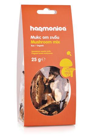 Микс горски сушени гъби harmonica 25 г.