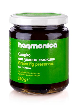 Сладко от зелени смокини harmonica 300 г.