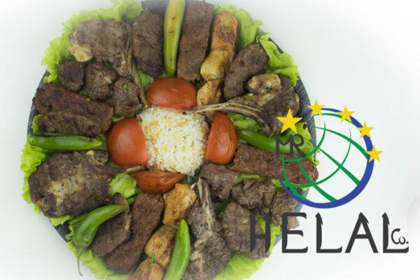 Грил микс от 5 вида месо с Пилаф и салата