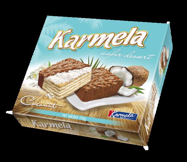 "Вафлен десерт ""KARMELA"" 200 гр."