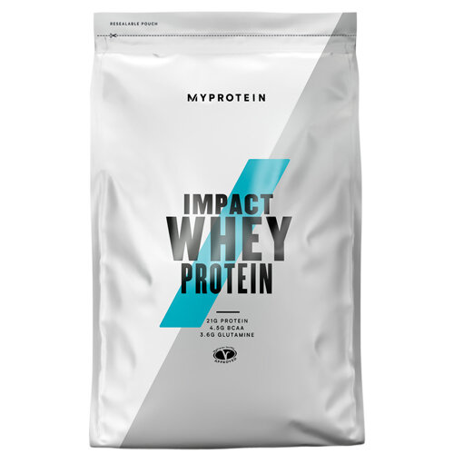 Суроватъчен протеин с вкус на банан Impact Whey Protein Banana Flavour, 1 kg