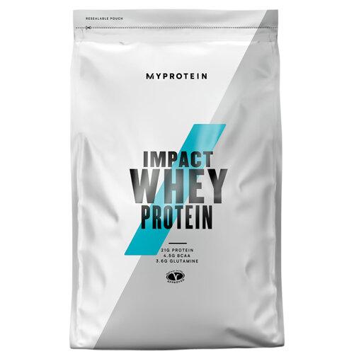 Суроватъчен протеин с вкус на ягодов крем Impact Whey Protein Strawberry Cream Flavour, 1 kg