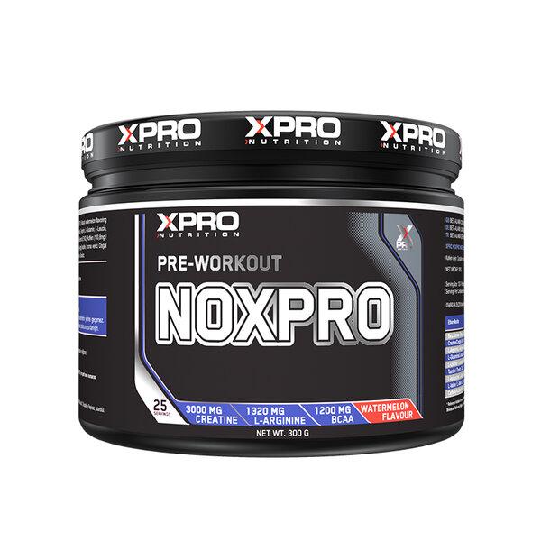 Хранителна добавка XPRO NOXPRO PRE WORKOUT с вкус на диня, 300 gr