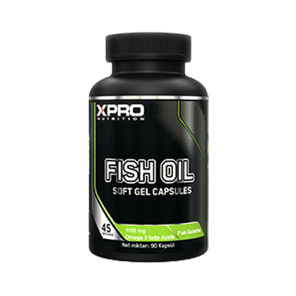 Рибено масло XPRO NUTRİTİON FiSH OİL, 90 капсули
