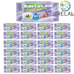 Бебешки мокри кърпички Baby Care, Pure Water 96%, 24x63 бр.