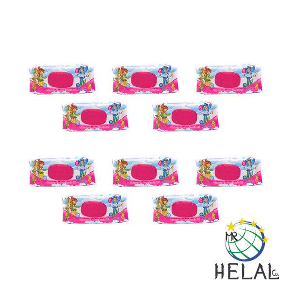 Бебешки мокри кърпи Aquella, Витамин Е и Провитамин В5, 12 x 90 бр.