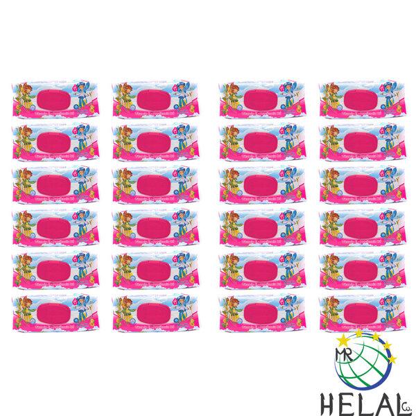 Бебешки мокри кърпи Aquella, Витамин Е и Провитамин В5, 24 x 90 бр.