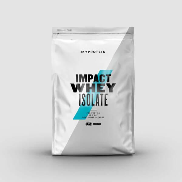 Хранителна добавка Myprotein Impact Whey Isolate Chocolate Banana, 1 kg