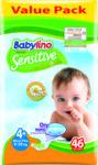 Пелени Babylino Sensitive Economy 2, 3-6 кг, 50 бр