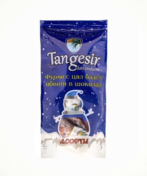 Шоко-фурми с бадем Tangesir 150 gr