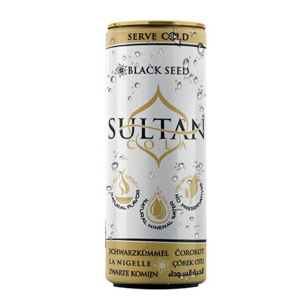 Sultan Cola газирана напитка с черен кимион и натурален кофеин, 250 ml