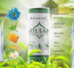 Sultan Ice Tea със зелен чай и черен кимион, жасмин, женшен и мента, 250 ml
