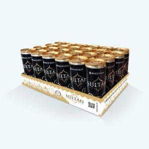 Sultan Power Drink тонизираща напитка с черен кимион, 24 x 250 ml