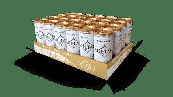 Sultan Cola газирана напитка с черен кимион и натурален кофеин, 24 x 250 ml