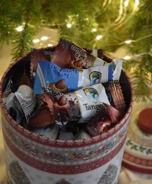 Шоко-фурми микс в метална подаръчна кутия