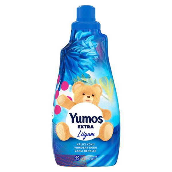 Турски омекотител концентрат Yumoş Extra с аромат на Лилия 60 изпирания 1.440 литра