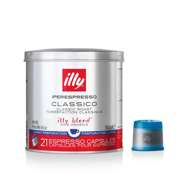 illy® – iperEspresso капсули – Classico Lungo – Medium Roast – 21 капсули