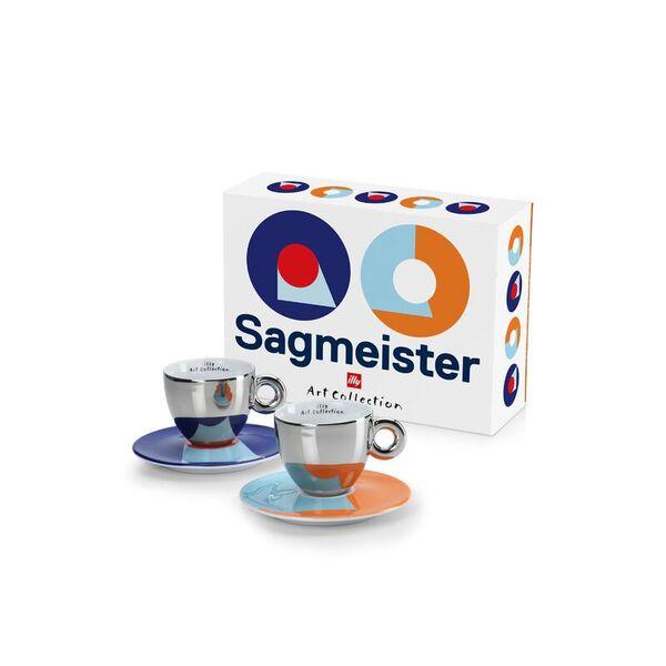 illy Колекция Stefan Sagmeister – Сет от 2 чаши за капучино