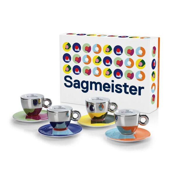 illy Колекция Stefan Sagmeister – Сет от 4 чаши за капучино