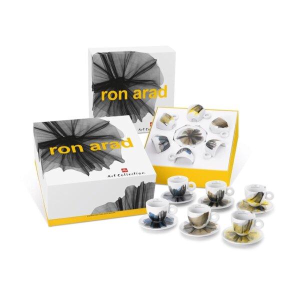 illy Колекция Ron Arad – Сет от 6 чаши за капучино