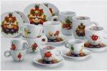 illy Комплект Mascotte Expo Milano 2015 – Сет 2 капучино чаши с чинийки